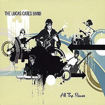Lucas Cates Band - All the Pieces [CD] USA import