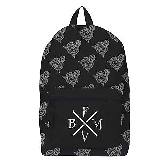 Bullet For My Valentine Backpack Bag Gravity Pattern Band Logo Official Rocksax