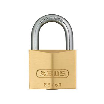 ABUS 65/40mm Brass Padlock Carded ABU6540C
