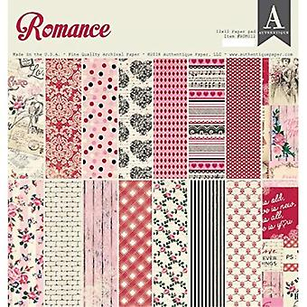 Authentique Romance 12x12 Inch Paper Pad