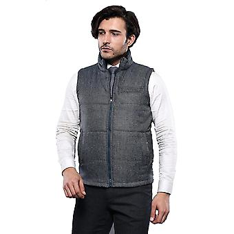 Two-sided green gilet   wessi