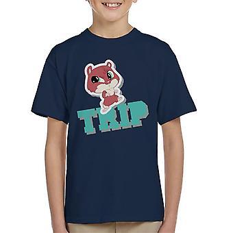 Littlest Pet Shop Trip Kid's T-Shirt