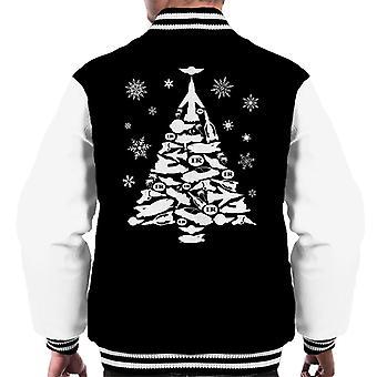 Thunderbirds Icon Christmas Tree Men's Varsity Jacket