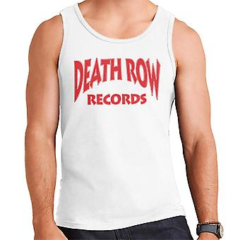 Death Row Records Logo rood mannen Vest