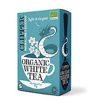 Organic White Tea 26 infusion bags of 45g