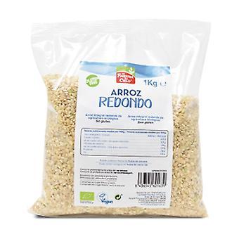 1 kg rund brun ris 1 kg