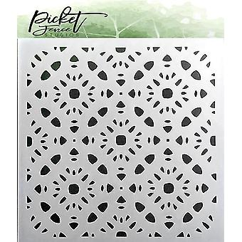 Picket Fence Studios Patterns of Flowers Pochoir