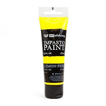 Finnabair Art Alchemy Impasto Paint Lemon Peel