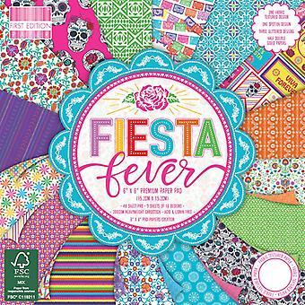 Primera Edición Fiesta Fever 6x6 Pulgadas Paper Pad