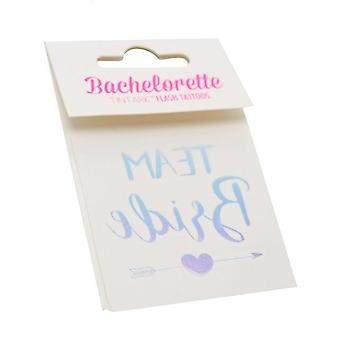 Waterproof Temporary Tattoo - Bachelorette Party, Bridesmaid Team Sticker