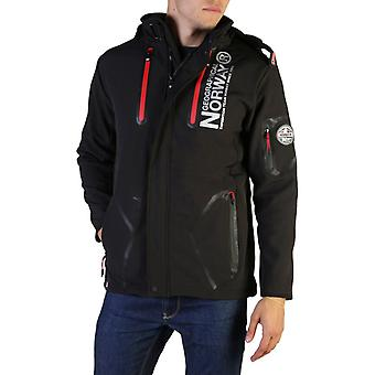 Geographical norway men's velcro zip long sleeves bomber jacket