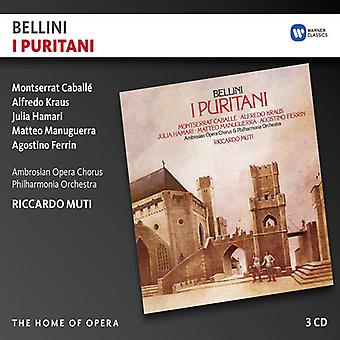 Bellini / Caballe / Kraus / Muti / Philharmonia - I Puritani [CD] USA import