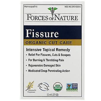 Forces of Nature, Fissure, Organic Cut Care, 0.37 oz (11 ml)