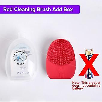 Facial Cleansing Brush - Sonic Vibration Face Cleaner Deep Pore Cleaning Electric Waterproof Massager