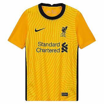 2020-2021 Liverpool Goalkeeper Shirt (Jaune) - Enfants
