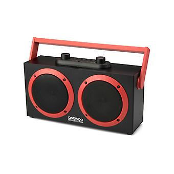 DSK-340 FM 15W black Daewoo portable bluetooth speakers