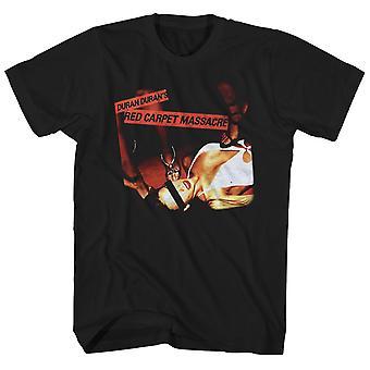 Duran Duran T Shirt Red Carpet Massacre Album Art Duran Duran Shirt