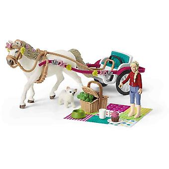 Schleich small carriage for the big horse show play set for children over 3