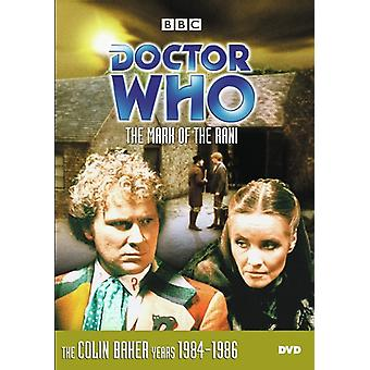 Doctor Who: Mark Of The Rani [DVD] USA import