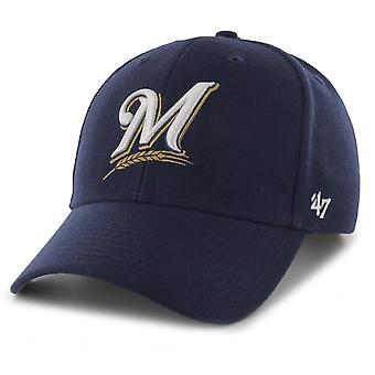 47 Brand Relaxed Fit Cap - MVP Milwaukee Brewers Home navy