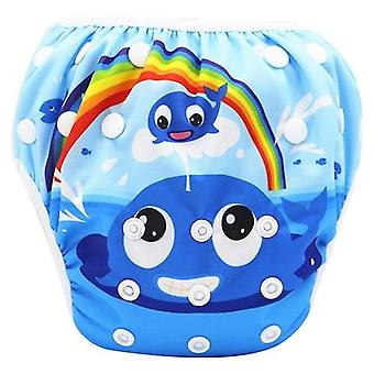 Infant Swimming Trunk Swim Diaper Swimsuit, Newborn Baby Swimwear