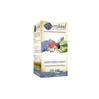 Garden of Life mykind Organics Mænd Once Daily, 60 Tabs
