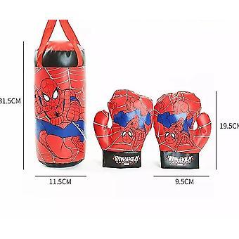 Spider Man Stampato, Guanti, Sacco di sabbia, Boxe Sport all'aperto