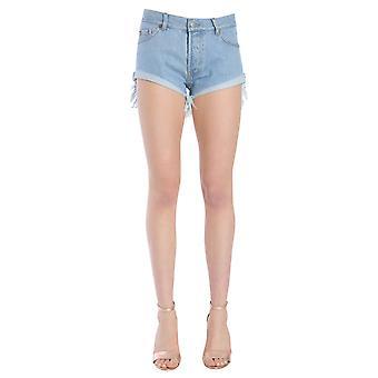 Forte Couture Fc1ss181221 Women's Light Blue Cotton Shorts