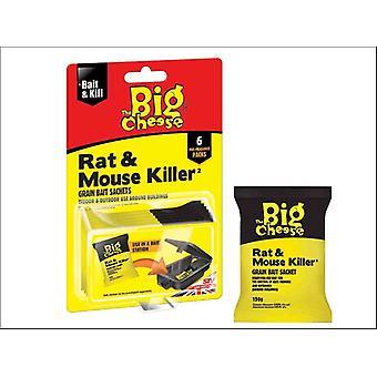 STV Mouse & Rat Killer Grain 6 x 25g STV244