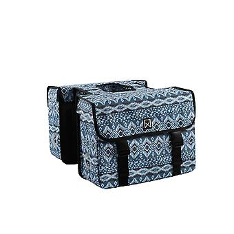 Willex Double Bicycle Bag Indigo 33 L Blue