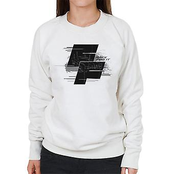 Fast and Furious Dodge Charger Race For It Montage Women's Sweatshirt