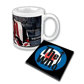 The Who Mug and Coaster The Kids Are Alright new official Gift set