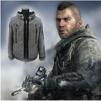 New Cosplay Modern Warfare Task Force Ghost Coat Battle Jacket Tactical Fleece