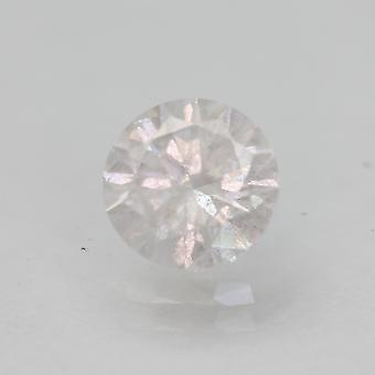 Certified 1.06 Carat E Color SI3 Round Brilliant Natural Loose Diamond 6.53mm