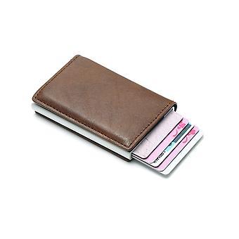 Sac à main Mini Aluminium Metal Slim Portefeuille de cartes de visite / Titulaire de carte de crédit