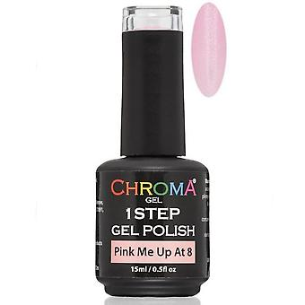 Chroma Gel One Step Gel Polish - Pink Me Up @ 8