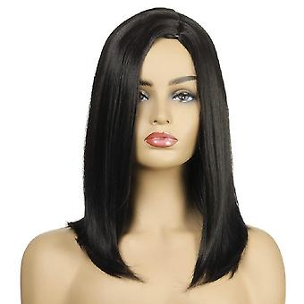 Women's Wig Fashion Women's Mid-Length Hair Chemical Fiber Wig Women's