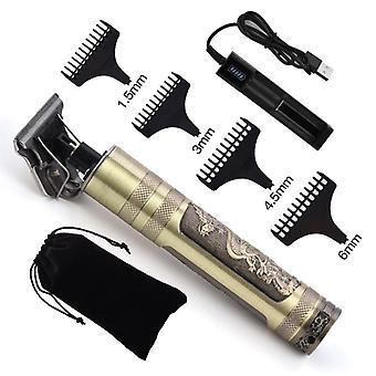 Szakáll trimmer Clipper, vezeték nélküli fodrász, kopasz hajborító vágás