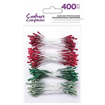 Crafter's Companion Flower Stamens Holiday Hues