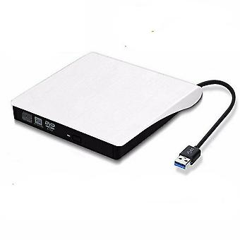 Externí Slim, Usb-3.0 DVD mechanika & Cd-Rw vypalovačka přehrávač pro PC, notebook