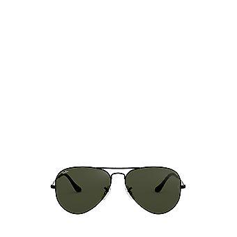 نظارات شمسية سوداء للجنسين من طراز Ray-Ban RB3025
