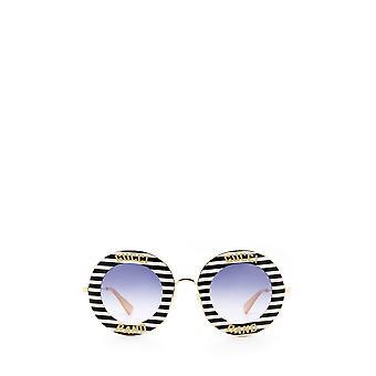 Gucci GG0113S czarne żeńskie okulary przeciwsłoneczne
