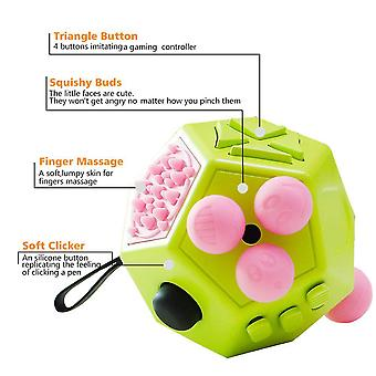Anti Stress Cube Decompression Relieve Dice Anti-anxiety  Relieve Anxiety