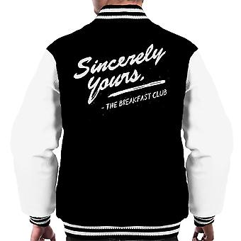 Frukostklubben Sincerely Yours Men's Varsity Jacket