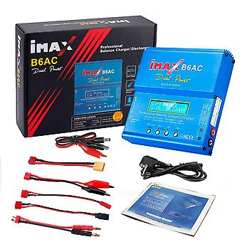 Htrc Imax Ac Rc شاحن ثنائي قناة التوازن، شاشة LCD الرقمية لى أيون البطارية
