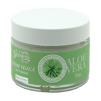 Organic Aloe Vera Face Cream 40 ml of cream
