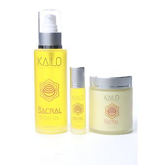 Sacral Body Oil And Butter Kit