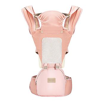 Baby carrier with waist stool, multifunctional and convertible, breathable, suitable for newborns