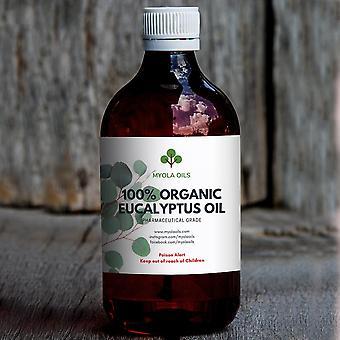 100% puhdasta orgaanista australialaista eukalyptusöljyä