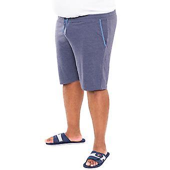 Duke D555 Mens Cobra Big Tall King Storlek 2 Pack Elastiska Jersey Shorts - Blå
